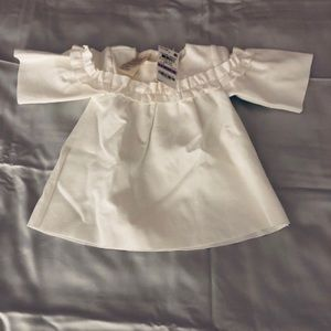 6-9 month ivory top